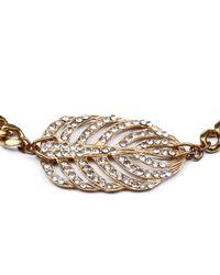 Lulu Frost - Metallic Goldtone Drift Necklace - Lyst