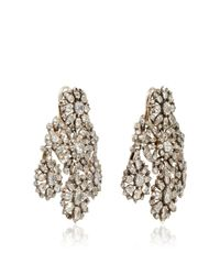 Simon Teakle - Multicolor 18th Century Diamond Girandole Convertible Earrings - Lyst