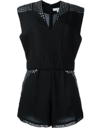 IRO - Black 'jayde' Playsuit - Lyst