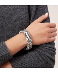 Hobbs - Metallic Bess Bracelet - Lyst
