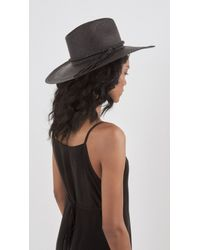 Ryan Roche - Black Panama Hat - Lyst