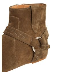 Isabel Marant - Brown Etoile 10mm Raelyn Suede Ankle Boots - Lyst