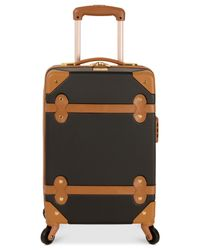 Diane von Furstenberg - Black Adieu 20-Inch Carry On Hardside Spinner Suitcase - Lyst