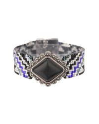 Hipanema - Gray Bracelet - Lyst