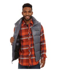 Marmot | Gray Stockholm Vest for Men | Lyst
