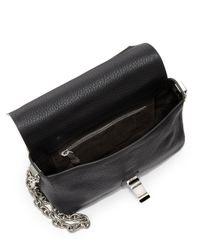Proenza Schouler - Black Ps Small Courier Crossbody Bag - Lyst