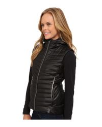 Spyder - Black Timeless Down Vest - Lyst