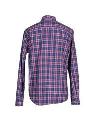 Tommy Hilfiger - Blue Shirt for Men - Lyst