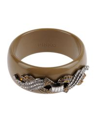 Pinko | Brown Bracelet | Lyst