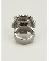 Mawi - Metallic Geometric Ring - Lyst