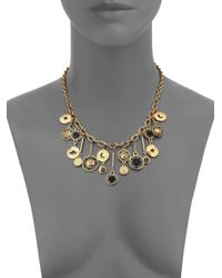 Marc By Marc Jacobs | Black Stardust Charm Necklace | Lyst