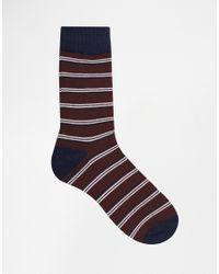 Jack & Jones - Multicolor 4 Pack Socks With Stripe for Men - Lyst