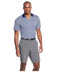 Cutter & Buck - Blue Big And Tall Drytec Striped Trevor Polo for Men - Lyst