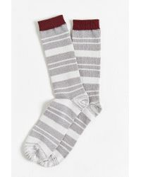 Urban Outfitters - Gray Faded Stripe Sock for Men - Lyst