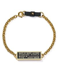 Marc By Marc Jacobs - Metallic Standard Supply Bow Bracelet - Lyst