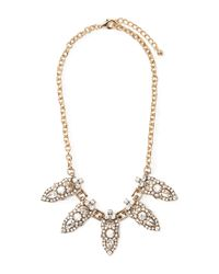 Forever 21 - Metallic Rhinestone-encrusted Statement Necklace - Lyst