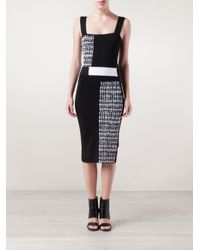 Roland Mouret - Black Rowington Dress - Lyst