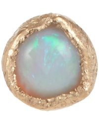 Julie Wolfe - Metallic Gemstone Stud - Lyst
