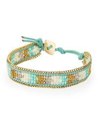 Nakamol - Multicolor Mixedbead Wrap Bracelet Turquoise - Lyst