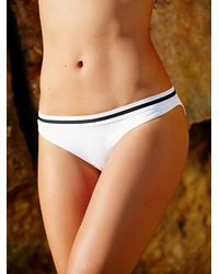 Free People - White Cali Dreaming Womens Pandora Bottoms - Lyst
