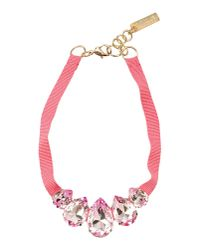 Caterina Capelli - Pink Necklace - Lyst