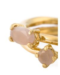 Wouters & Hendrix | Metallic 'playfully Precious' Moonstone Ring | Lyst