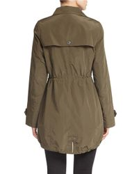 Gallery - Natural Hooded Anorak - Lyst