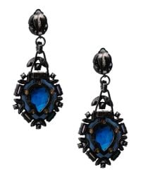 Lanvin | Blue Earrings | Lyst