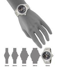 Fendi - Metallic High Speed Stainless Steel Black Logo Dial Watch for Men - Lyst