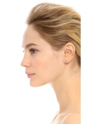 Marc By Marc Jacobs | Black New York Tiny Stud 3 Pack Earrings | Lyst