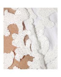 Diane von Furstenberg - White Kendra Embellished Lace Jumpsuit - Lyst
