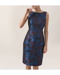 Hobbs | Blue Efa Dress | Lyst