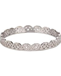 Grace Lee | Metallic Petite Lace Band Size Na | Lyst