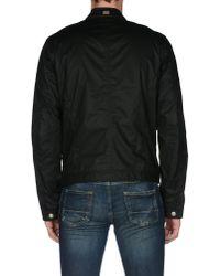 DIESEL - Black Jacket for Men - Lyst