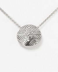 House of Harlow 1960 - Metallic Tholos Mosaic Necklace 16 - Lyst