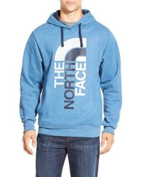 The North Face Blue 'trivert' Hoodie for men