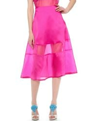 Karla Špetic - Pink Silk Liquid A Line Skirt - Lyst