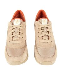 Tory Burch | Natural Gibb Logo Trainer | Lyst
