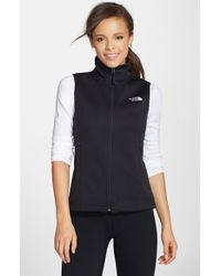 ff81826737 Lyst - The North Face  canyonwall  Hardface Fleece Vest in Black