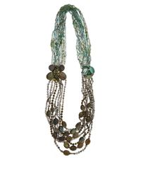 Iradj Moini | Green Labradorite Beaded Butterfly And Ladybird Necklace | Lyst