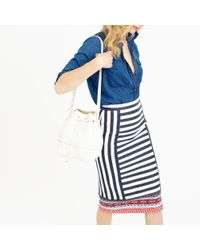 J.Crew | Multicolor Collection Striped Tapestry Pencil Skirt | Lyst