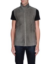 Rick Owens - Gray Jacket for Men - Lyst