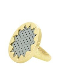 House of Harlow 1960 | Metallic Sunburst Ring | Lyst