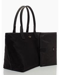 kate spade new york | Black Classic Nylon Brynne Baby Bag | Lyst
