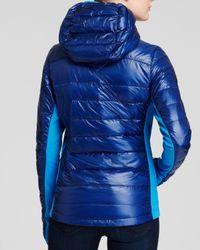 Canada Goose | Blue Hybridge Light Hooded Jacket | Lyst