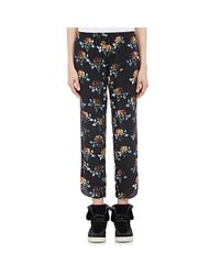 Thakoon Addition - Blue Relaxed Crop Pants - Lyst