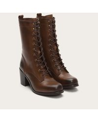 Frye - Brown Kendall Lace Up - Lyst