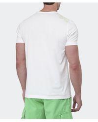 BOSS Green | White Crew Neck T-shirt for Men | Lyst
