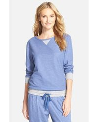 Carole Hochman - Blue Lounge Pullover - Lyst