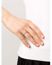 Rosa Maria - Metallic 'ye' Diamond Ring - Lyst